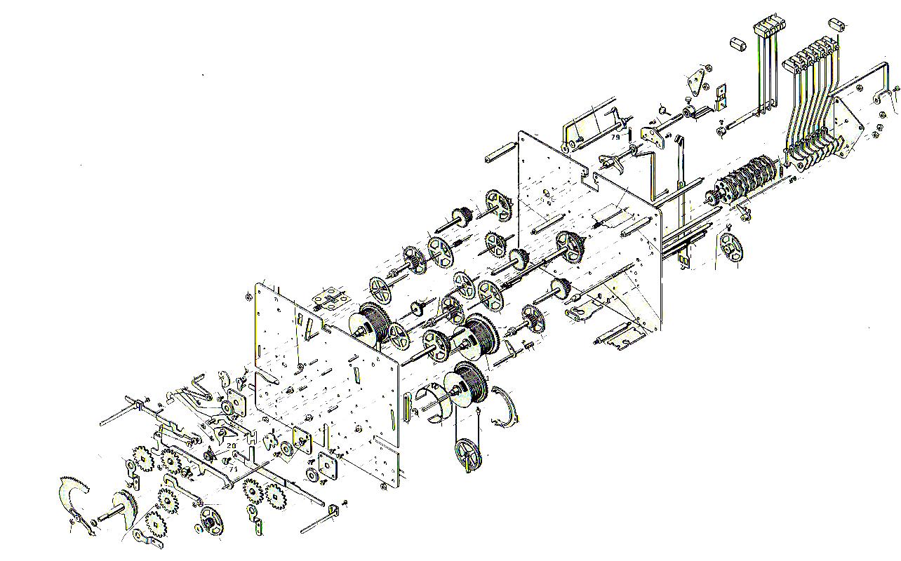 urgos clock movement diagram | Diarra
