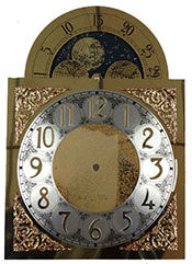 Clock Moon Dial