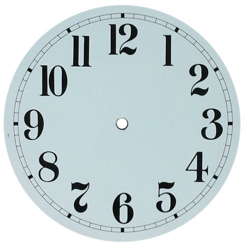 Round Clock Dials Clockworks