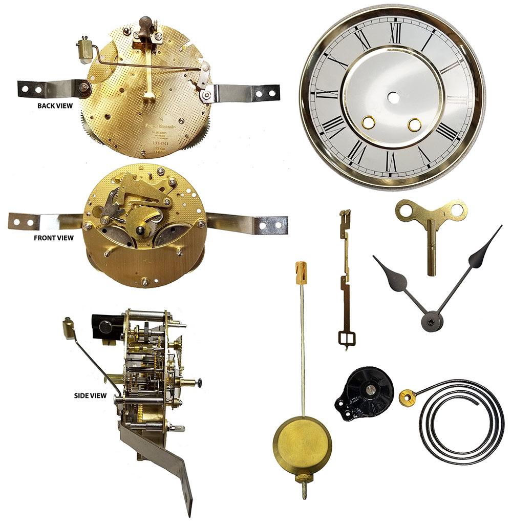 350 / 351 series Hermle clock movements