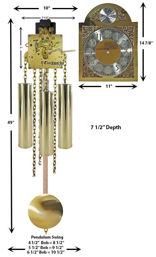 Kieninger Grandmother Clock Kit