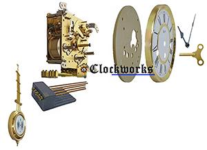 Spring Driven Wall Clock Kit Needing A Clock Case