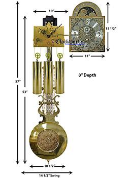 Kieninger Clock Movement Kit