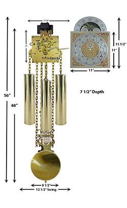 Chain Driven Clock Kit