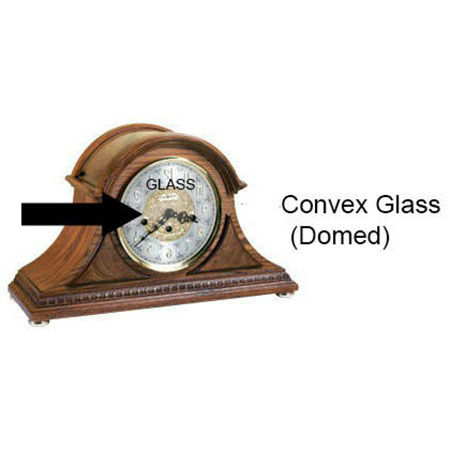 Mantel clock glass replacement