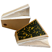 Cuckoo Clock Parts Trapezoid Tops