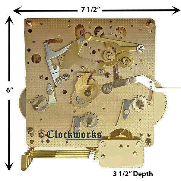 Hermle Clock Movement 1050 1051 Such As The 1051 020
