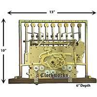 1171 series Hermle clock movements