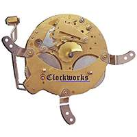 131-080 Hermle Clock Movement