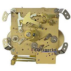 Hermle clock movement 341 Series