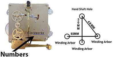 Hermle Clock Movement 351