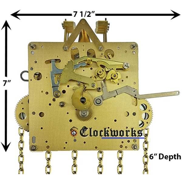 451 Series Hermle Clock Movements : Clockworks