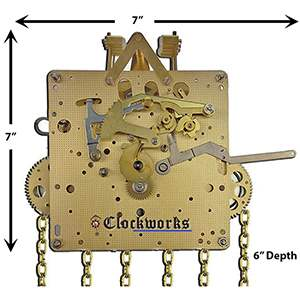 How To Get The Weight Driven Clock Working Again Clockworks