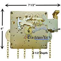 The 451-030 Hermle Clock Movement