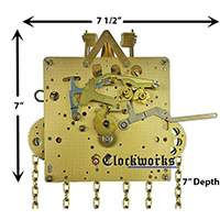 The 451-053 Hermle Clock Movement