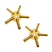 5 Prong Clock Key Set