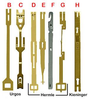 Clock Pendulum Leader Hanger