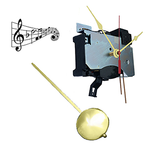 Chiming Quartz clock movements