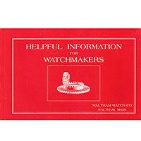 Watch Repair Helpful Information
