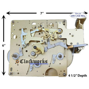 1051-030 Hermle Clock Movement