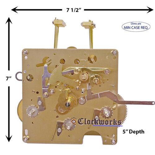 1051-051 Hermle Clock Movement