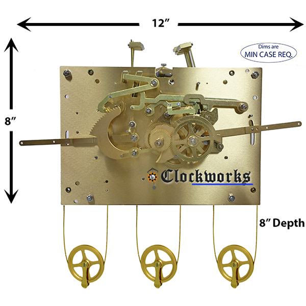 NEW 1171-850 Clock Movement by Hermle