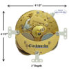 130-070 Hermle Clock Movement