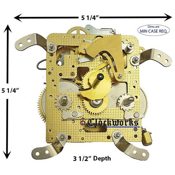 150-010 Hermle Clock Movement