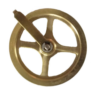 Mechanical Clock Weight Pulley