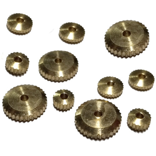German Clock Hand Nuts