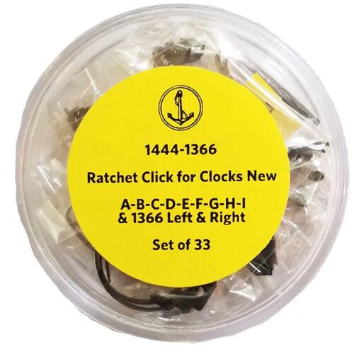 Clock Click Spring Assortment 33PC