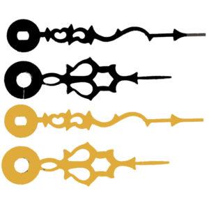 Serpentine Variant Quartz Hands