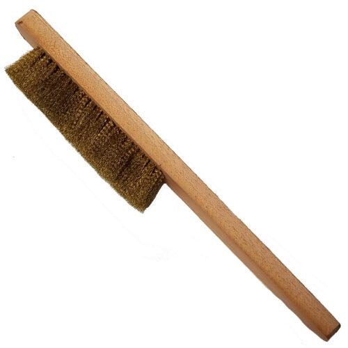 Brass Bristle Clock Cleaning Brush
