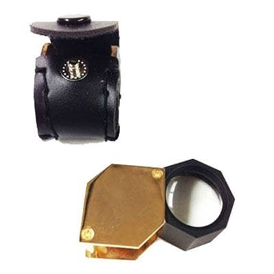 20x Loupe with Leather Case
