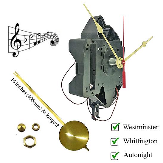 Quartz Clock Movements   Pendulum   Clockworks