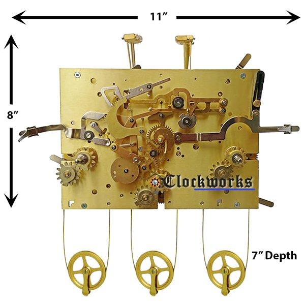 3227X  Clock Movement