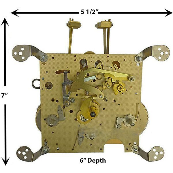 3266X Clock Movement