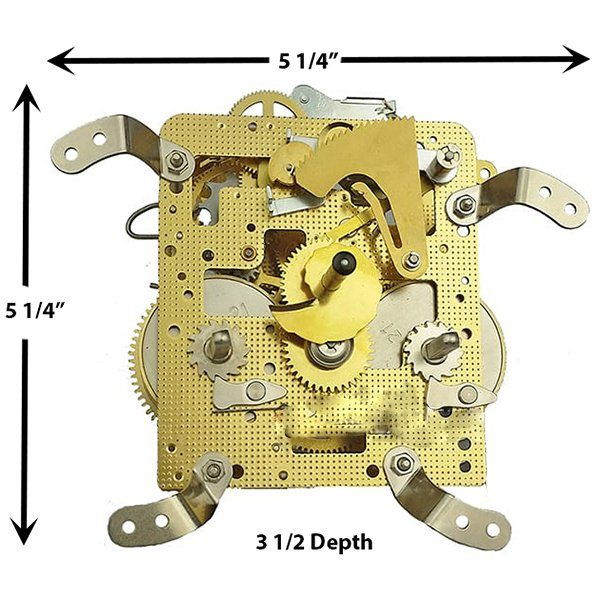 3304X Clock Movement