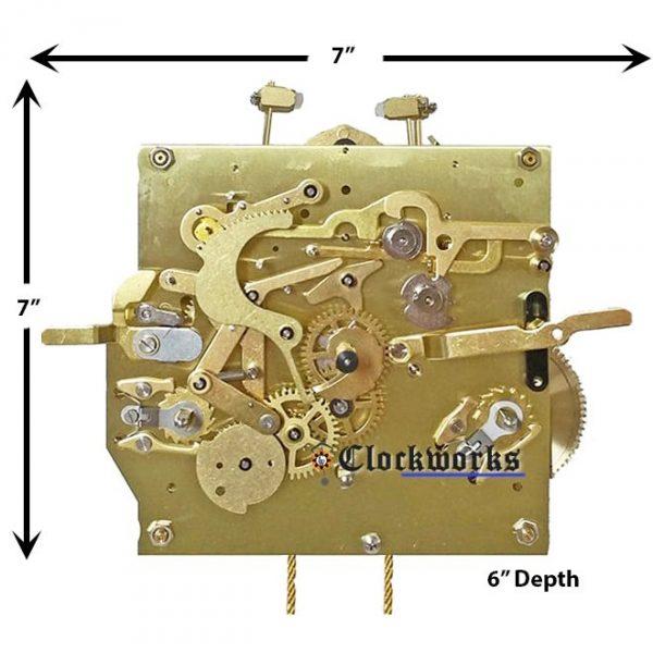 3314X Clock Movement