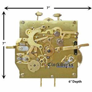 3319X Clock Movement