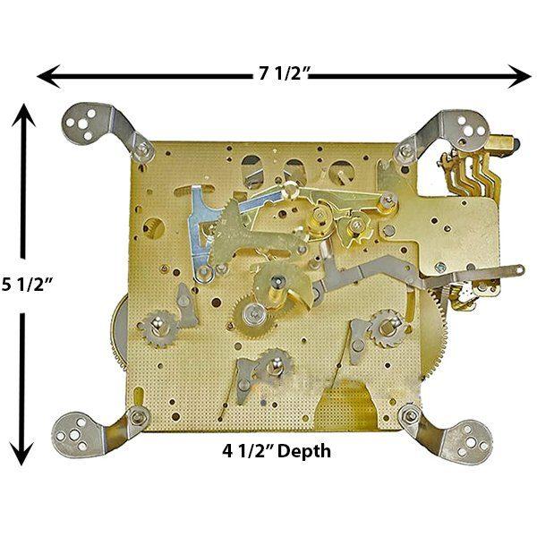3322X Clock Movement