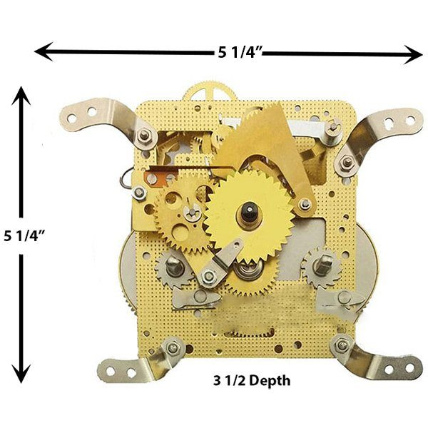 3352X Clock Movement