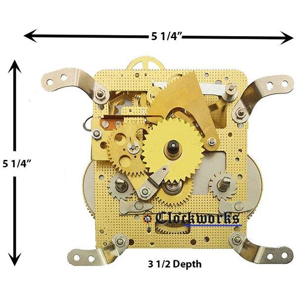 3390X Clock Movement