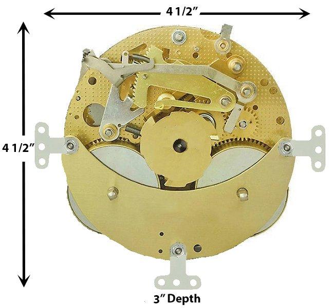 3397X Clock Movement