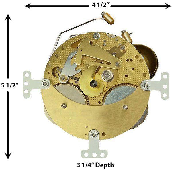 3398X Clock Movement