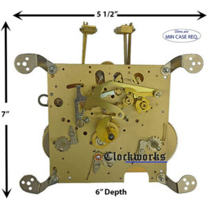 351-050 Hermle Clock Movement