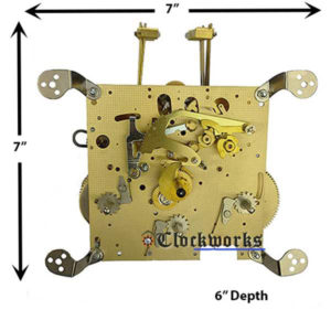 351-051 Hermle Clock Movement