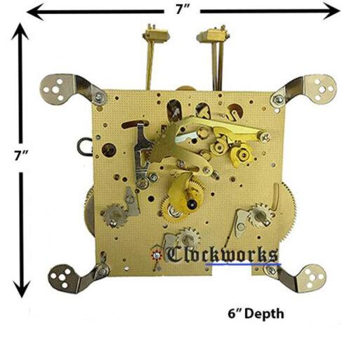 351-051 Hermle Clock Movement