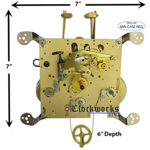 351-850 Hermle Clock Movement
