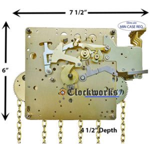 451-030 Hermle Clock Movement